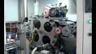Автоматический роторный тампонный станок для цилиндрических изделий PSI R1R