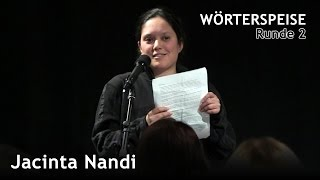 Jacinta Nandi (Runde 2 - Wörterspeise - Feb. 2015)