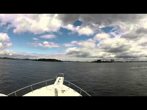 GoPro Tour through New York Harbor to Manhasset Bay