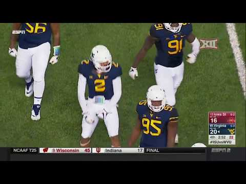 Iowa State at West Virginia Football Highlights