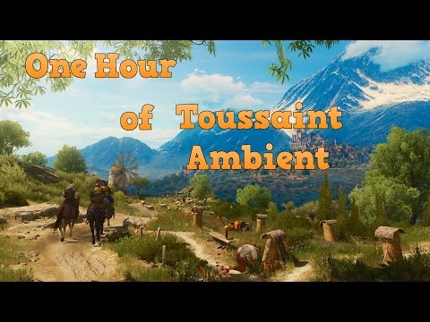 The Witcher 3 | 1 HOUR of TOUSSAINT AMBIENT MUSIC |