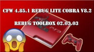 PS3 New Update CFW 4.84.12 REBUG REX (w/ Cobra v8.01 + Rebug Toolbox 02.03.02)