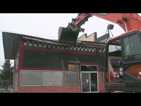 Kristina Kage - 'Sugar Shack' Strip Club Comes Down...Making Room For...