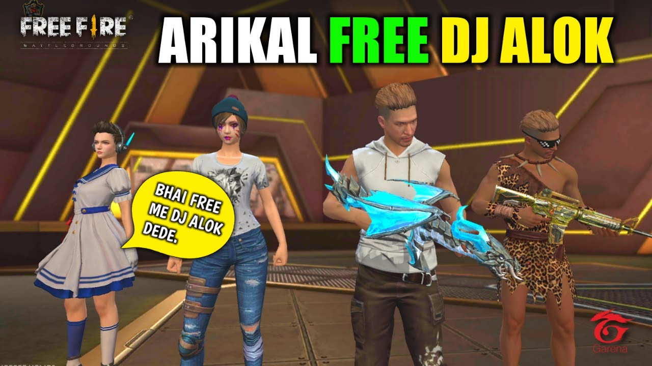 Random Fan Arikal Asking Me For DJ Alok Clash Squad - Garena Free Fire