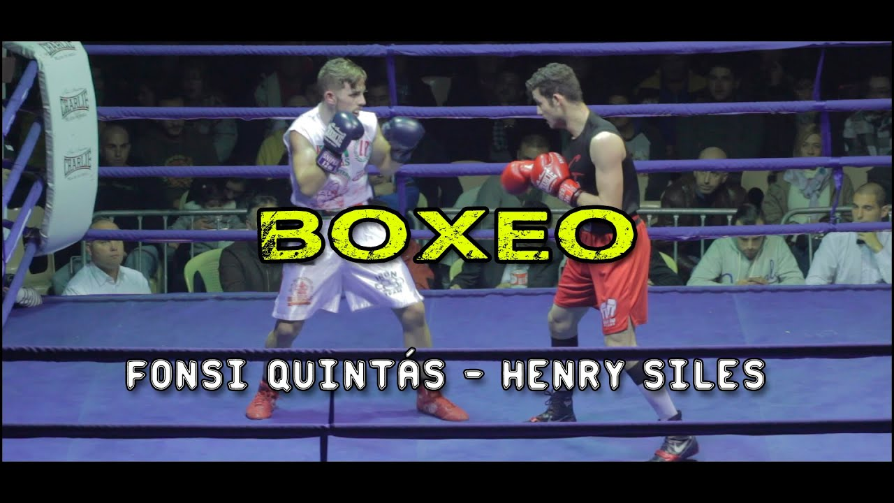BOXEO/ Fonsi Quintás - Henry Siles [One more round]
