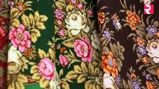 Russian handicrafts  Shawls from Pavlovsky Posad