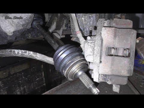 Замена внутреннего пыльника гранаты и сальника привода ВАЗ 21099