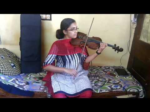 Haripriya Violin -Ente swapnathin thamara