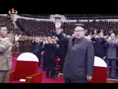 Kim Jong Un celebrates North Korea ICBM test at concert | VISUALS Visuals aired on North Korea's state broadcaster KRT showed leader Kim Jong Un attending a concert to celebrate last week's test launch of an intercontinental ...