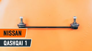 Montáž Kosti stabilizátoru NISSAN QASHQAI / QASHQAI +2 (J10, JJ10): video zdarma