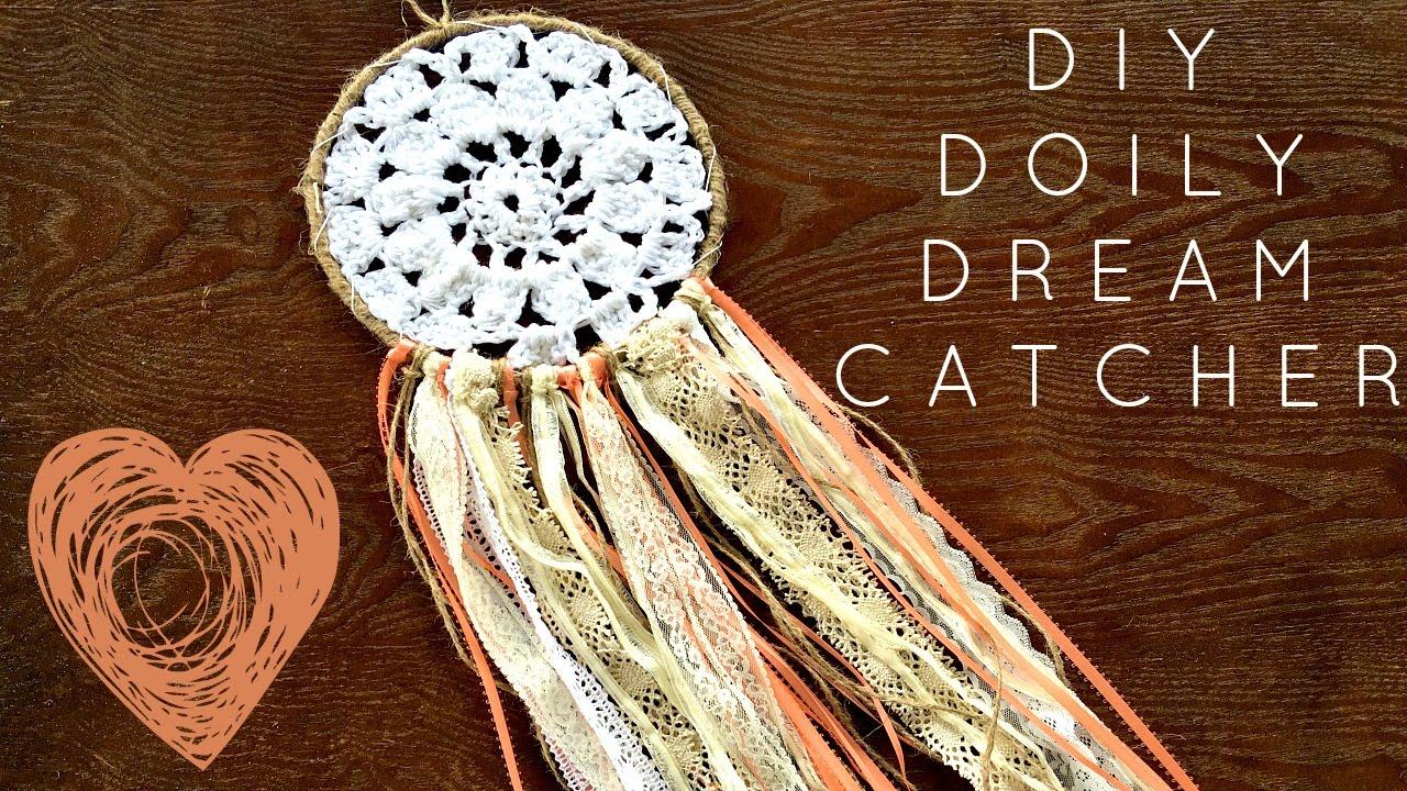 how to make crochet dream catcher