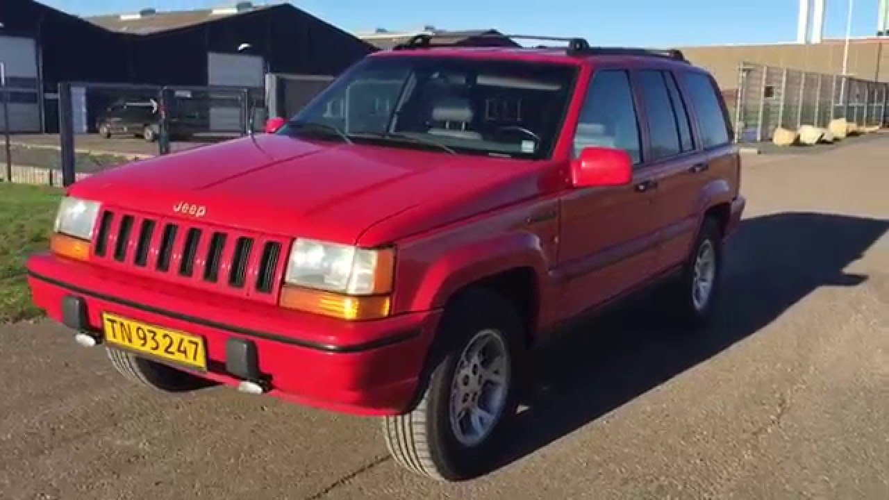 1993 Jeep Grand Cherokee Limited 5,2 V8