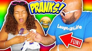 4 FUN PRANKS for KIDS!