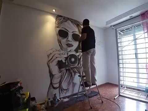 Murales Pintados En Valencia Www Muralesvalencia Com Youtube