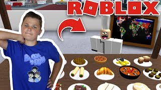 I HIRED WORLD STAR CHEF FOR MY RESTAURANT TYCOON in ROBLOX