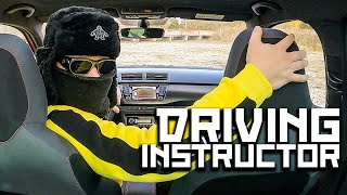 Slav school of driving, Part 2 - driving instructor Boris