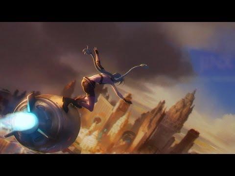 видео: Музыка league of legends: Встречайте Джинкс