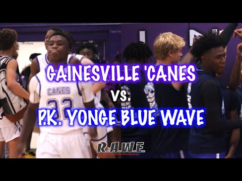 Willie Williams III, Daryus Boyd, & Rod Williams Lead Gainesville High To A W Over P.K.Yonge!