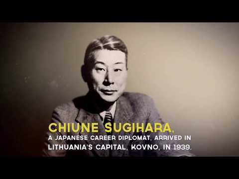 Who is Chiune Sugihara, the hero of the latest Google doodle?