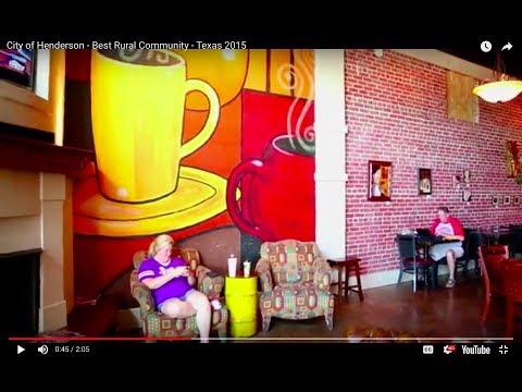 City of Henderson - Best Rural Community - Texas 2015