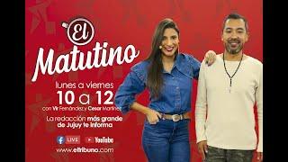 """#EnVivo """"El Matutino"""" Martes 27 de Julio .-"""