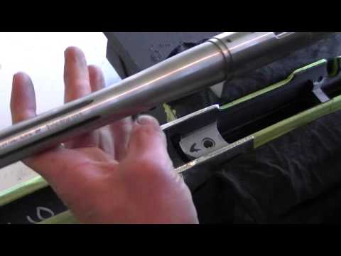 1. Bedding a rifle with MatchGrade bedding compound