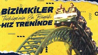Bizimkiler Türkiye'nin En Büyük Hız Treninde 😂 #TheLandOfLegends