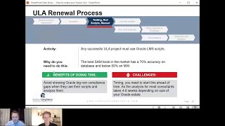 Third step to take in any ULA renewal or exit process