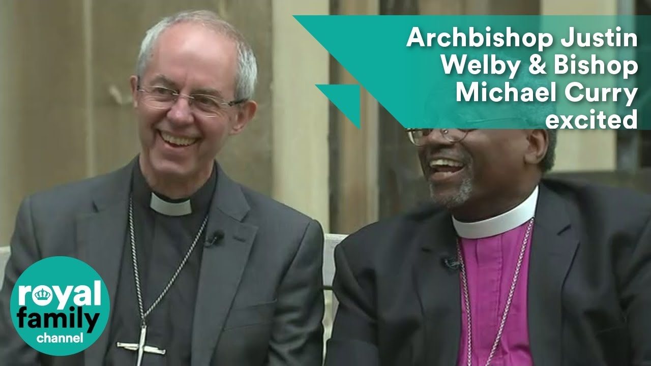 Archbishop Justin Welby And Presiding Bishop Michael Curry Excited