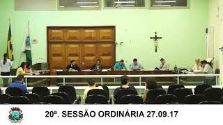 27.09.17 Sessão da Câmara
