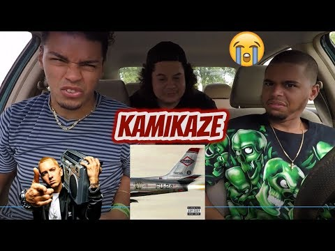 EMINEM - KAMIKAZE   REACTION REVIEW