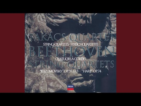 "Beethoven: String Quartet No.7 In F, Op.59 No.1 - ""Rasumovsky No. 1"" - 1. Allegro"