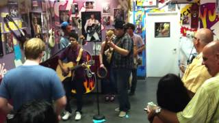 "Quinto and the Beans ""That's All Right Mama"" by Elvis Presley at Archie's in Tustin,Ca - 6/27/13 Thumbnail"