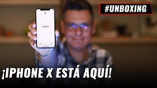 iPhone X, unboxing en español