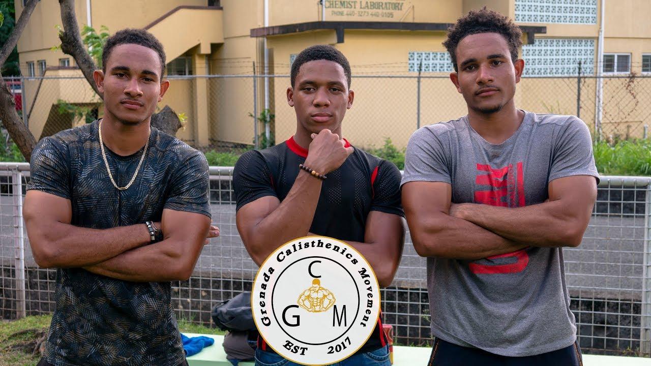 Grenada Calisthenics Movement - Dauer: 3 Minuten, 28 Sekunden