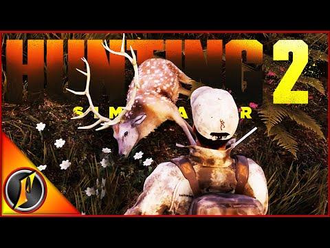 Return Hunt in Europe | Trophy Sika Buck in Hunting Sim 2! |
