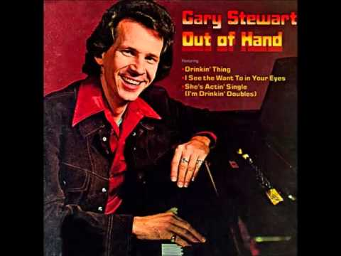 Gary Stewart     Sweet Country Red