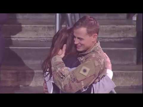 Military Homecoming at the LA Kings Game