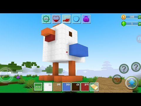 Exploration Lite Craft 'CanadaDroid' Android Gameplay #44 | Learn How To Make A Beautiful Chicken