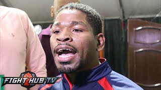 Shawn Porter on Broner win, Wants Mayweather or Pacquiao next & knockdown- Full video scrum