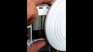 Fixing a Chirping Smoke Detector