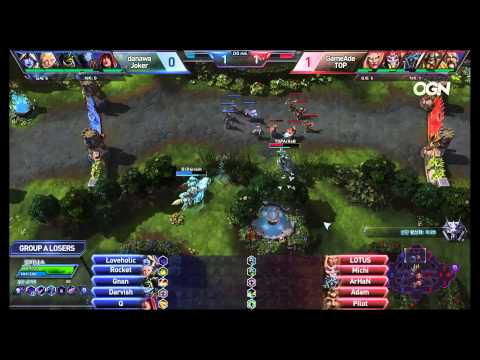 Jokers vs. TOP - Game 2 - Ro8 Group A Losers Match - Heroes of the Storm Super League 2015