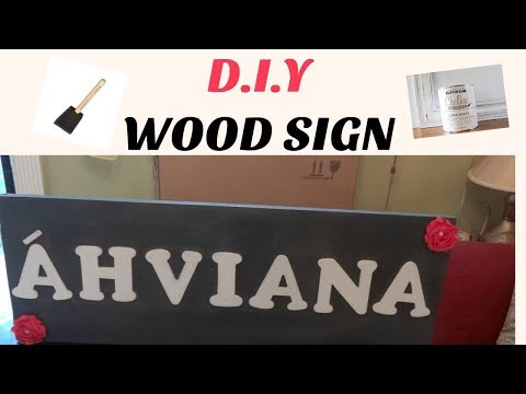 D.I.Y WOOD SIGN/BABY SHOWER GIFT IDEA!!!