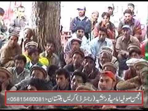 Sofia Imamia Noorbakhshia :Yom-e-Hussain Jalsa Machulo 2012 Part 3/3