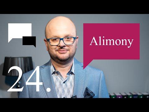 24. Alimony - Legal English Centre