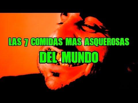 LAS 7 COMIDAS MÁS ASQUEROSAS DEL MUNDO
