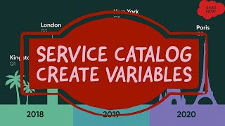 #7 ServiceNow Service Catalog Training   Create different types of Variables