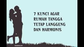7 kunci agar rumah tangga tetap langgeng dan harmonis