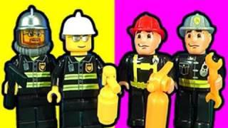 LEGO V Mega Bloks Fire Station Fight