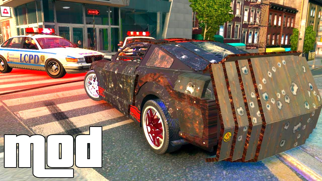 Grand Theft Auto Iv Death Race Mod For Gta Iv Youtube